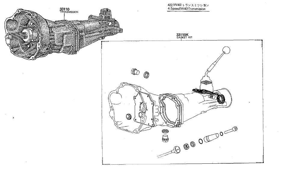 old celica transmissions diagrams t40 t50 w40 w50 p51 rh toymods org au