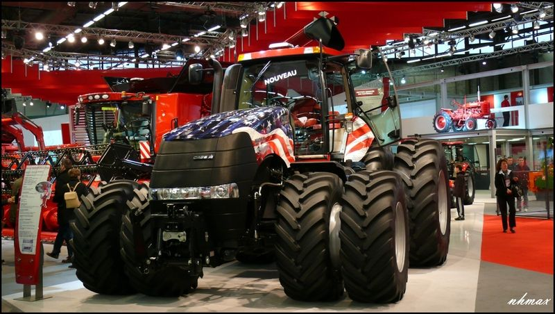 Sima 2011 partie 1 l 39 agriculture le forestier et le for Salon du tp