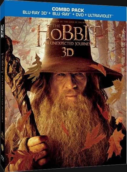 Hobbit Beklenmedik Yolculuk 2012  3D Half SBS - 1080p x264 Türkçe